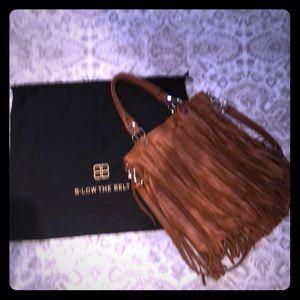 B-Low the Belt Fringe bag